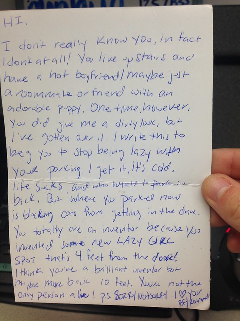 Your Favorite Notes Of 2014 Passiveaggressivenotes Com