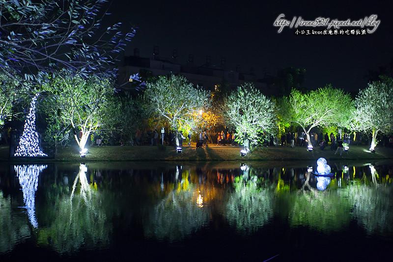 【台南盐水】点亮月津的夜空,水上花灯在这里.2014月津港灯节