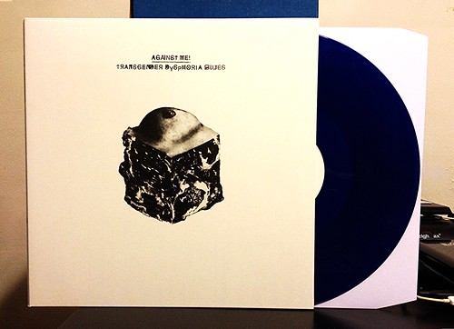 Against Me! - Transgender Dysphoria Blues LP - Blue Vinyl (/1000) by Tim PopKid