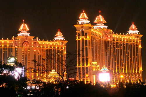When on a luxury tour of Asia, staying in the glittering hotels of Macau is a must ... photo by CC user traveloriented on Flickr