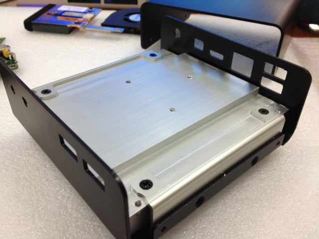 Fanless Kit pour NUC Haswell