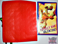 PAPER MAGIC GROUP :: Nickelodeon TEENAGE MUTANT NINJA TURTLES ; VALENTINE'S MAIL BOX viii // ..sheet of '♥' stickers (( 2014 ))