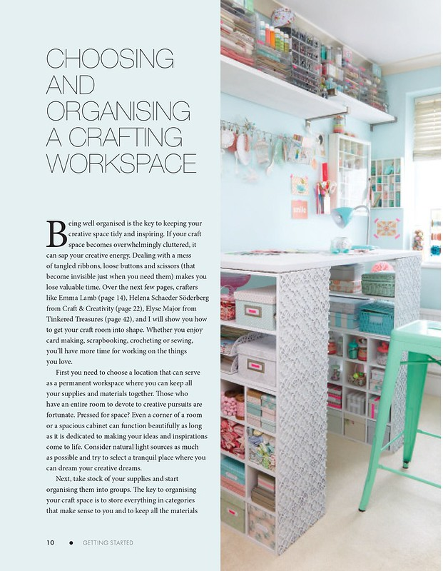 Craft, Show & Sell  - Crafting workspace