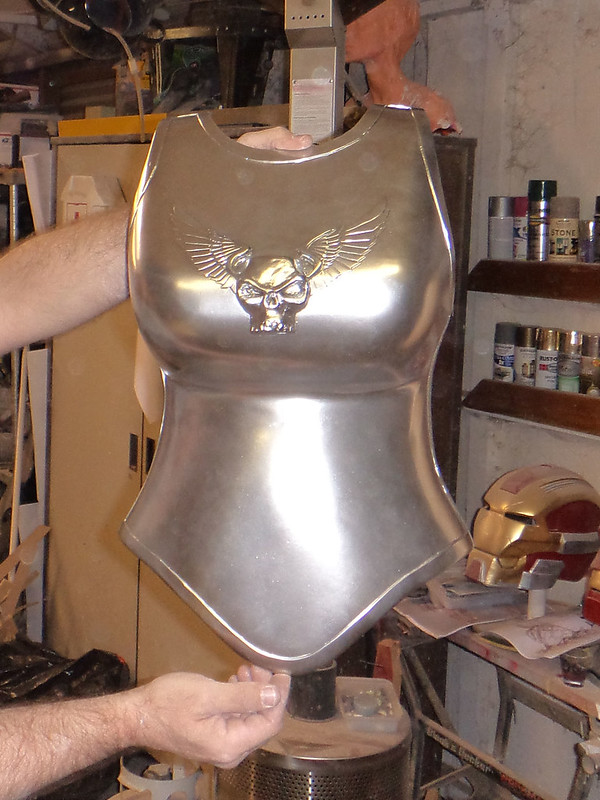 Breastplate Chrome Basecoat