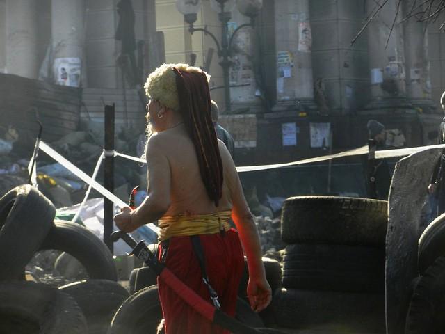 Козак на Майдане