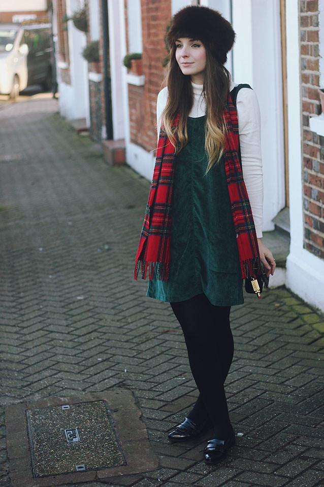 MINKPINK Dungaree dress cossack hat seventies style