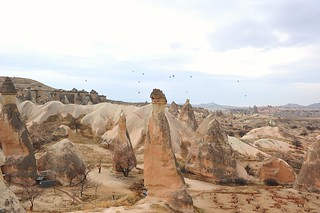 Fairy chimneys, Pasabaglari (Monk's valley), Cappadocia (Kapadokya, Turkey) 351