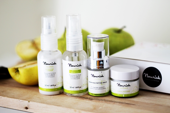 Review Nourish Skin Range Balance Mini Kit