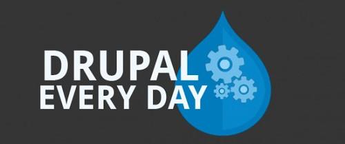 DrupalEveryDay un petit service pour apprendre un peu plus chaque jour