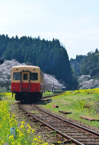 ★春の小湊鐵道★月崎駅から・・・