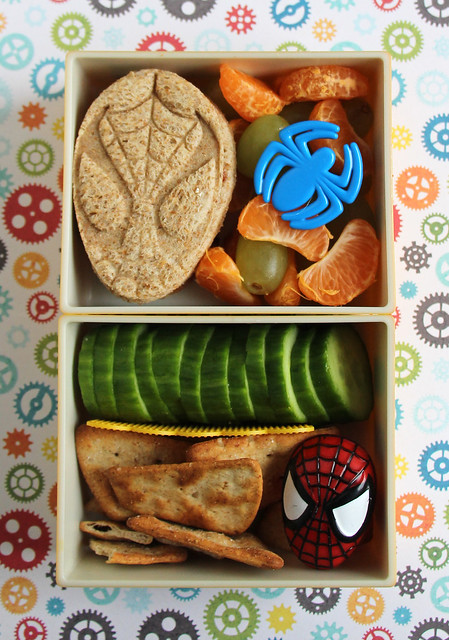 Preschooler Spiderman Bento #626