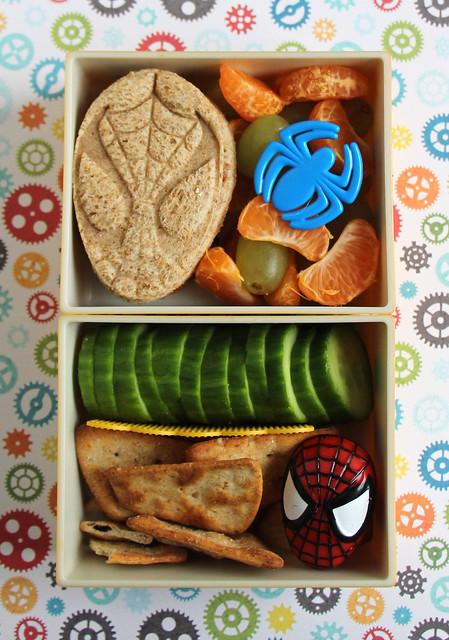 Preschooler Spiderman Bento #626