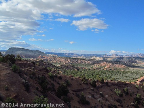 The view from another camp spot, Camp Cannonville, Grand Staircase-Escalante National Monument, Utah