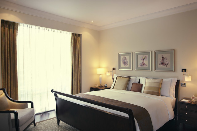 Raffles Executive Suite Bedroom