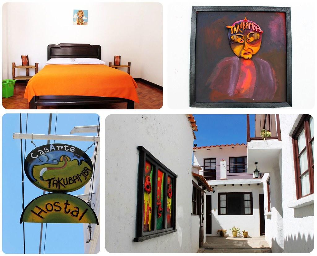 Sucre Hostal CasArte Takubamba Bolivia