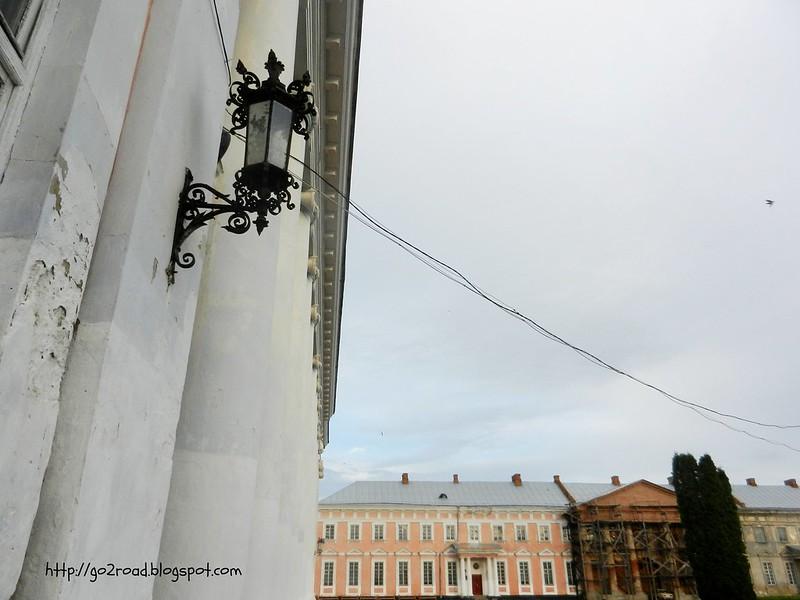 Реставрация дворца Потоцких