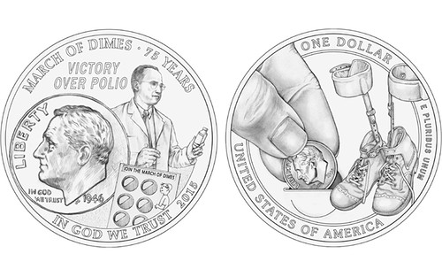 Recommended Polio coin designs