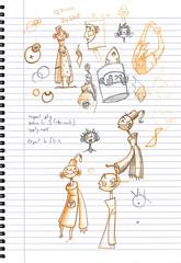Found Art: Stefan's Sketchbook