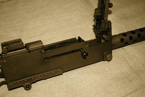 WW-2 US Browning Machine Gun
