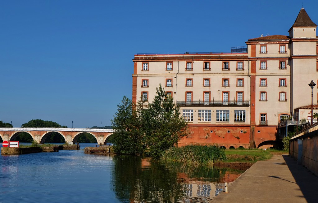Moissac, le grand moulin