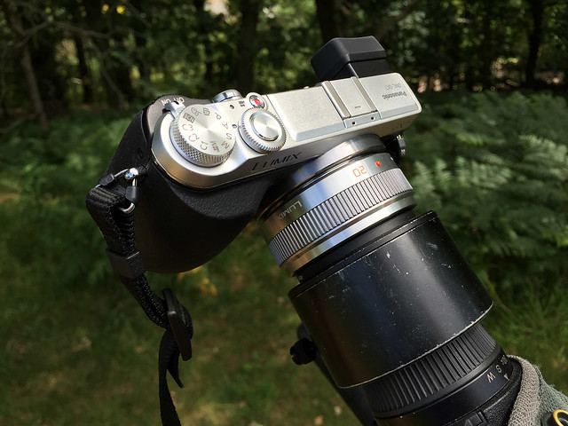 My digiscoping set-up - July 2015
