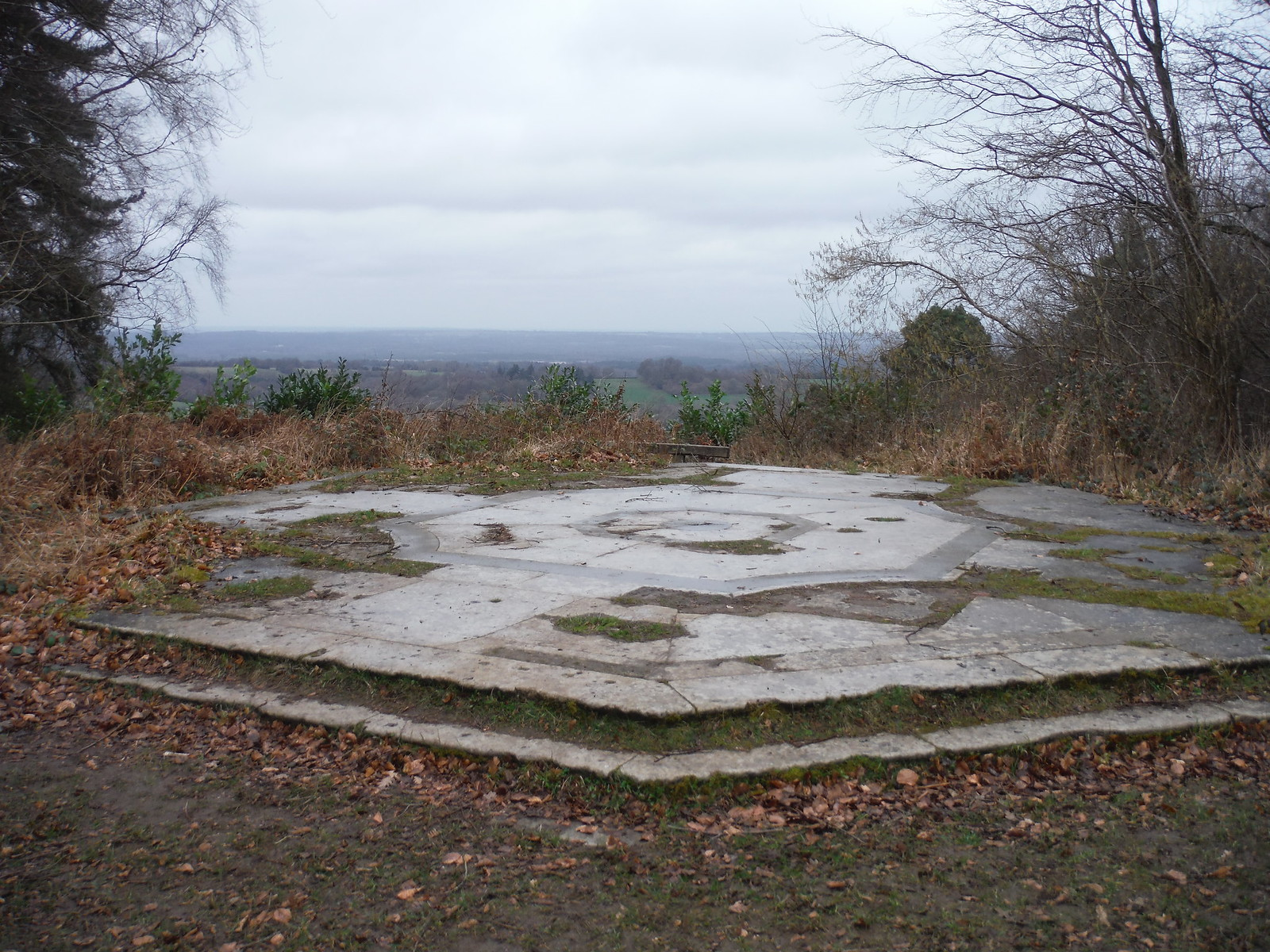 Temple of the Four Winds and Views to the North SWC Walk 144 Haslemere to Farnham