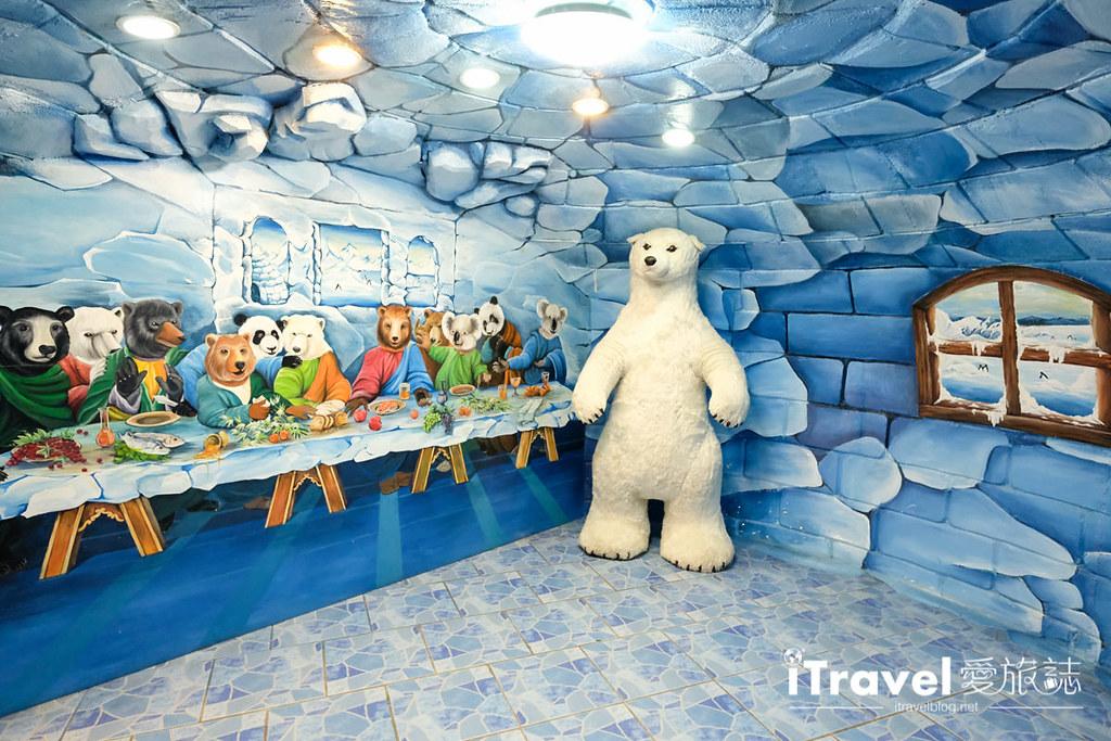 《芭堤雅景点推荐》泰迪熊博物馆 Teddy Bear Museum,亲子合影同欢好去处。