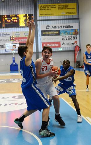 Grande Finale Fribourg Académie U16m -  Swiss Central Basket 37