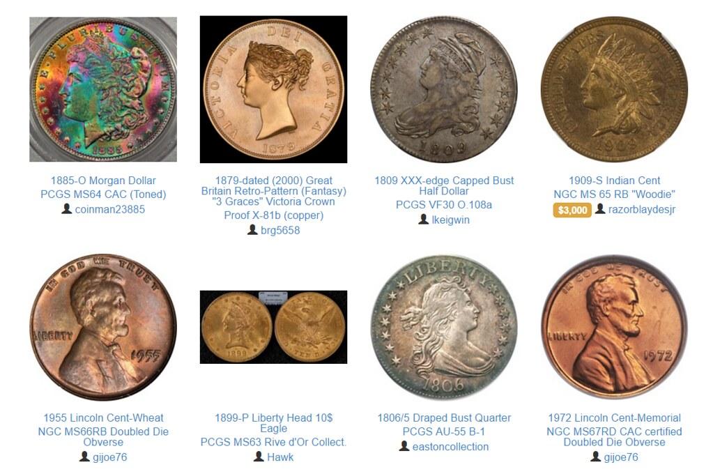 Collective Coin screenshot | Numismatic Bibliomania Society