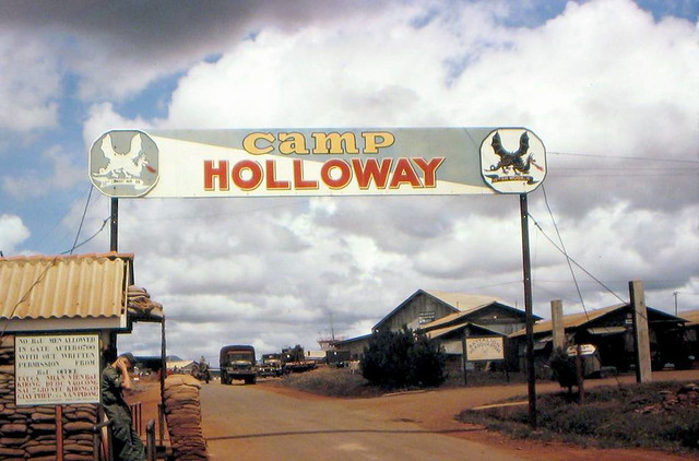 Camp Holloway - Pleiku 1965-66 by Hampton Broeker
