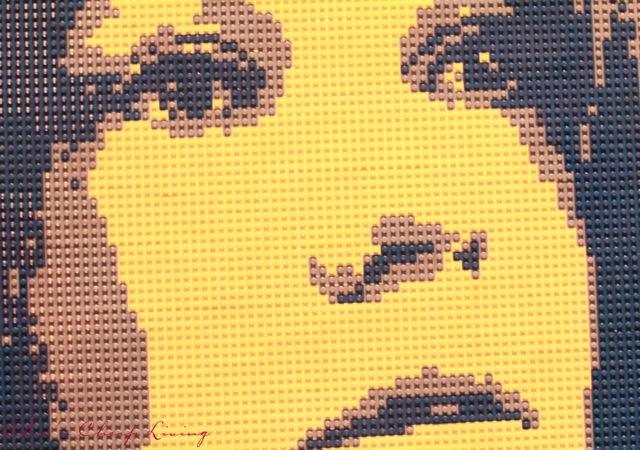 Art of the Brick Janis by Nathan Sawaya by Chic n Cheap Living