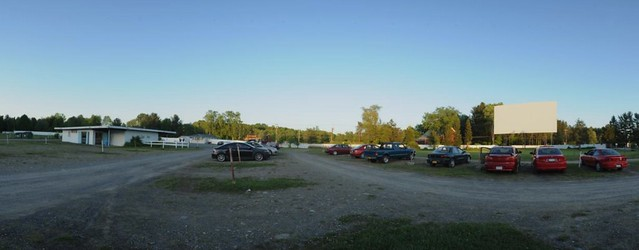 Jericho Drive-in Panoramic shot