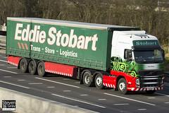 Volvo FH 6x2 Tractor - PX10 DLY - Toni Karen - Eddie Stobart - M1 J10 Luton - Steven Gray - IMG_3312
