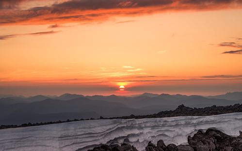 sunset summer mountain snow scotland highlands nikon ben 85mm scottish glen lee western glencoe 24mm filters isles mor cornice nevis lochaber d600 dearg carn