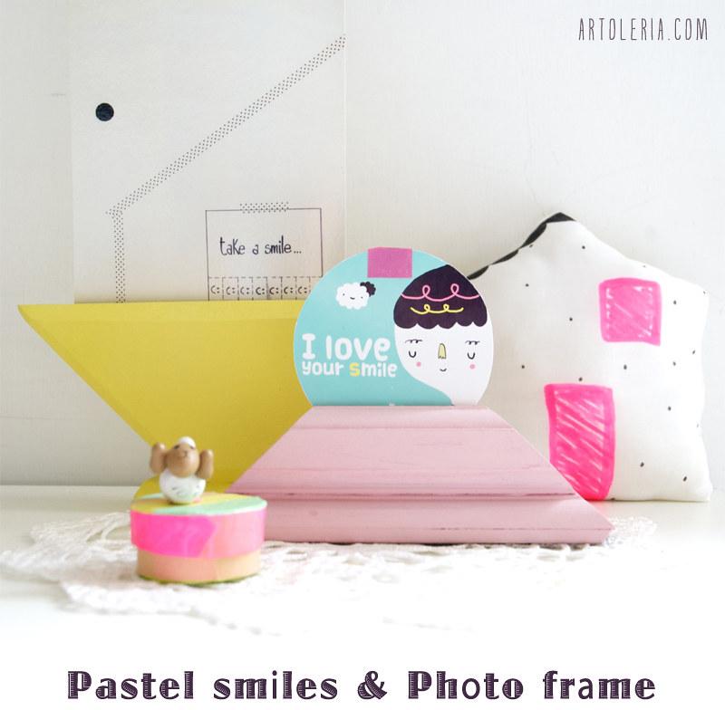 sorrisi pastello e portafoto