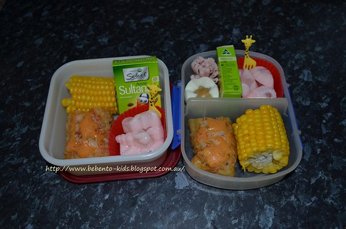 Chinese Cruller with prawn & mayo bento