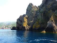 Scandola : vues de Punta Palazzu vers la baie d'Elbu
