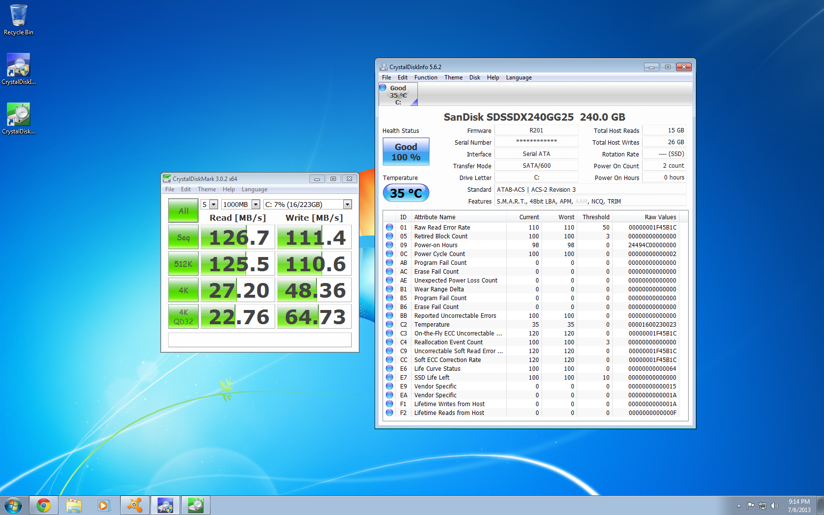 How is the health of my SSD? | AnandTech Forums: Technology