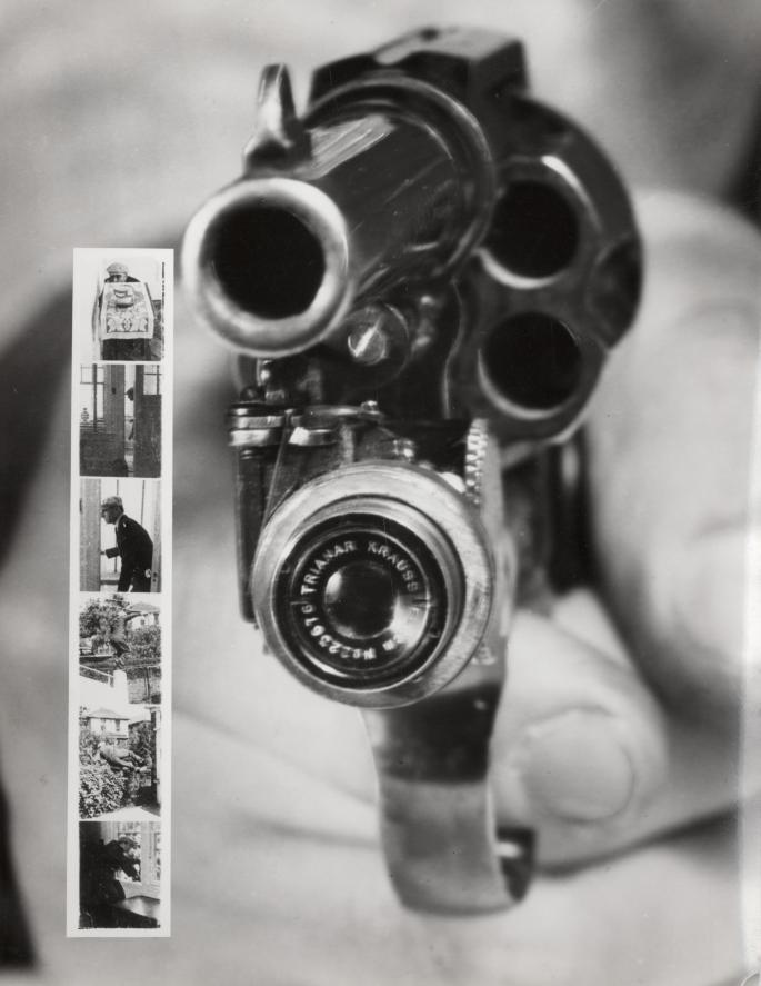 Colt .38 Revolver with Camera