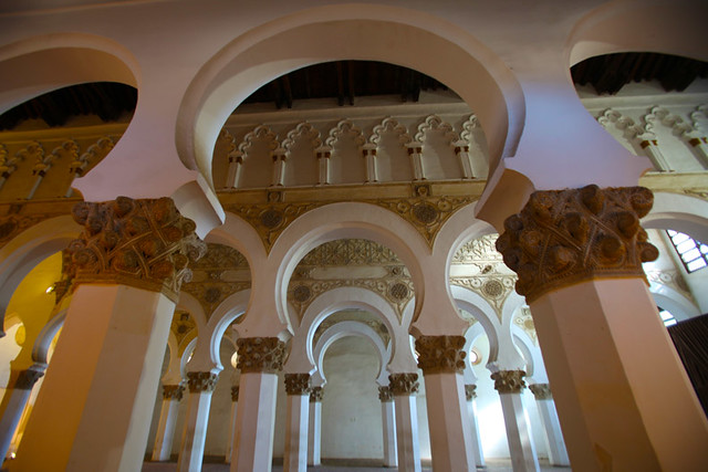 Toledo Sinagoga-Iglesia Santa Maria La Blanca