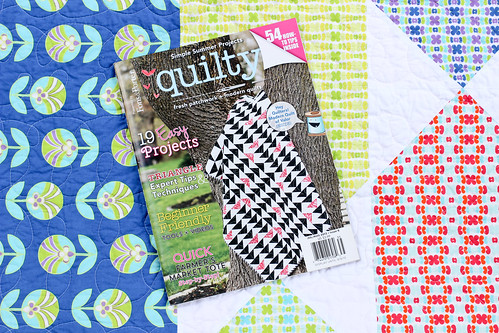 Quilty - July/August Issue by Jeni Baker