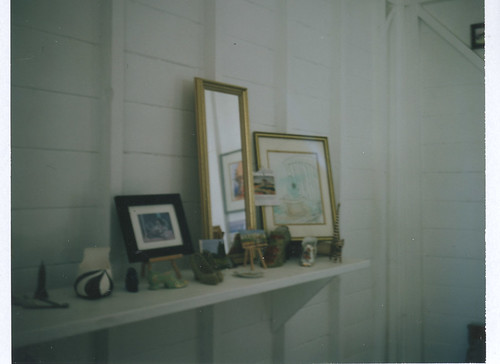 her studio | Polaroid 103 | Fuji Film FP-100C | Vanessa Simpson