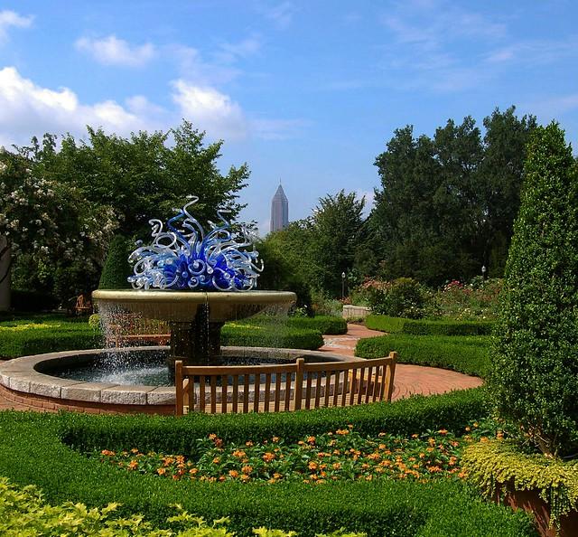 Atlanta Botanical Garden Storza Woods: Summer Morning At The Atlanta Botanical Garden