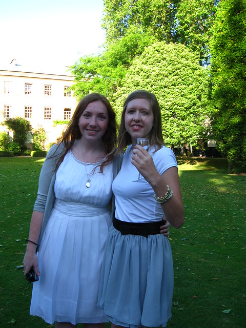mary barlow and me on the lawn (2)