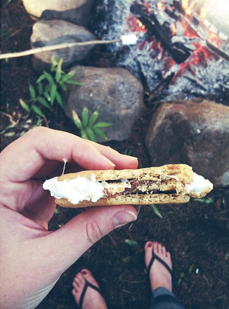 My summer is now complete. #smores