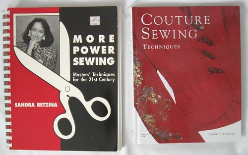 More Power Sewing book and Couture Sewing book
