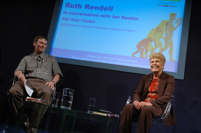 Ruth Rendell in conversation with Ian Rankin