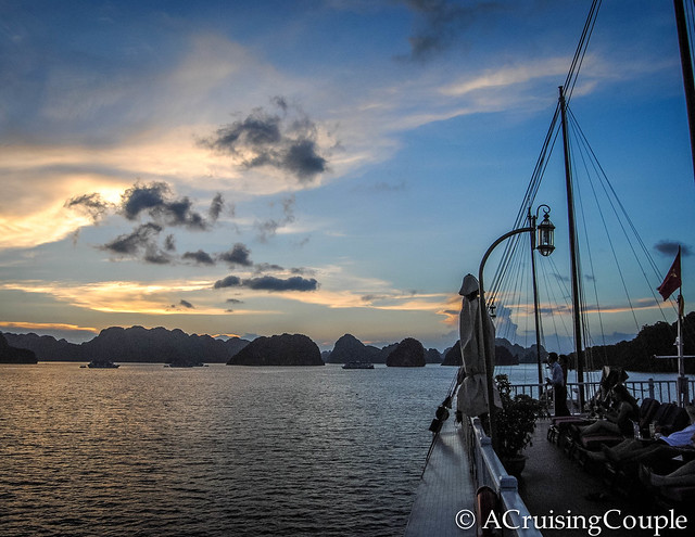 Halong Bay Indochina Sails Sunset
