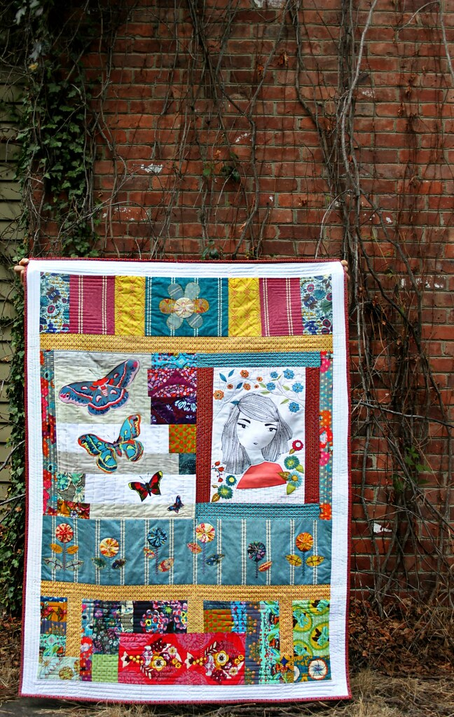 Applique Art Quilt
