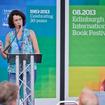 A Story Shopper takes to the stage | An up-and-coming Edinburgh author reads to our Spiegeltent audience